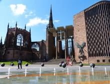 Coventry Cathedral, West Midlands © Mat Fascione